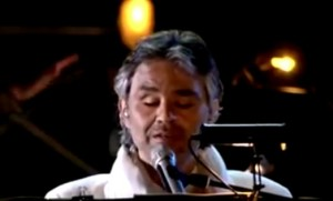 Andrea Bocelli e Gloria Estefan