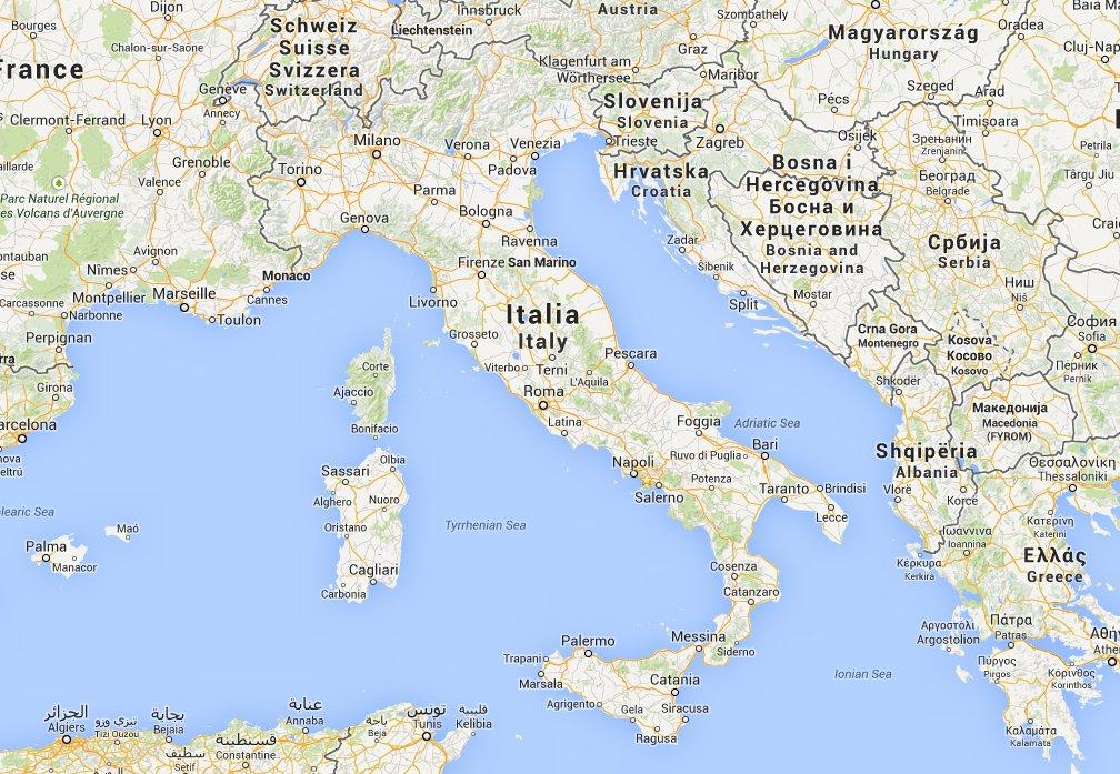 Terremoti oggi in Italia 1 agosto 2014. Scossa M2.6 a ...