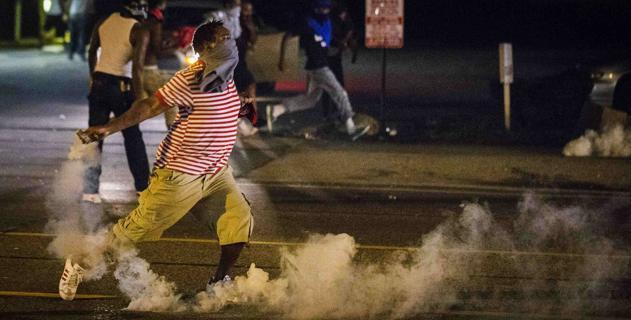 Ferguson. Proteste per Michael Brown