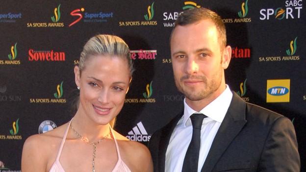 Oscar Pistorius e Reeva Steenkap