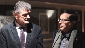 Bernard Thévenet con Cesare Nissirio