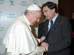 Papa Francesco e Daniele Manni