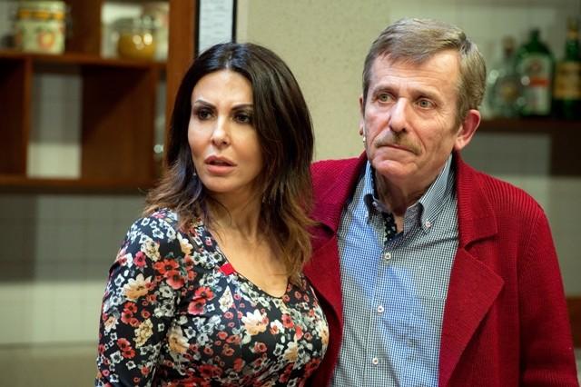 Sabrina Ferilli e Maurizio Micheli