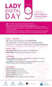 Lady Digital Day 9 marzo