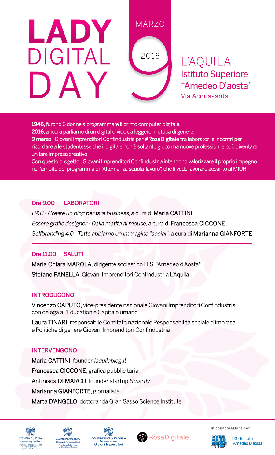 Lady Digital Day 9 marzo