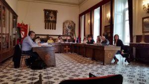 foto consiglio comunale Amalfi
