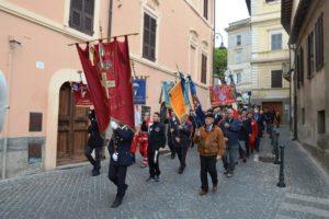 corteo 4 novembre Tarquinia (Viterbo)