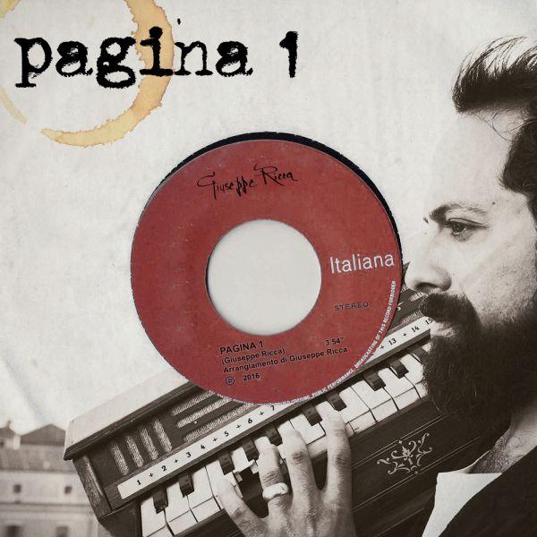 Giuseppe Ricca, cover Pagina 1