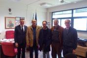 E. Serpico, G. Ianniciello, O. Colucci, A. Castaldo, F. Travaglino presso ITS MRD Marigliano 22.11.2016