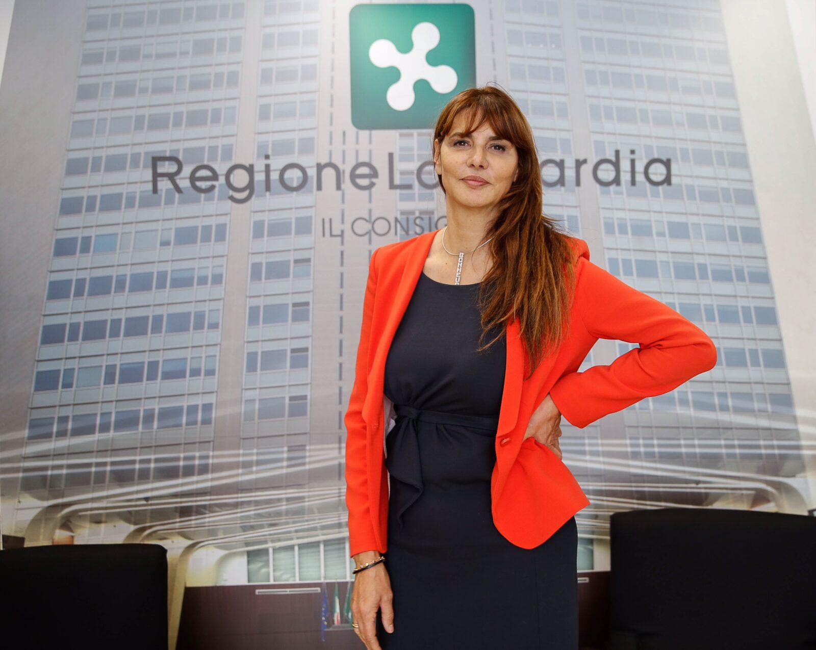 Maria Teresa Baldini, consigliere Regione Lombardia e presidente del gruppo misto Fuxia People