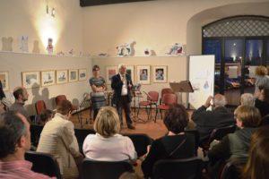 Il direttore artistico Angeletti e l'assessore Centini