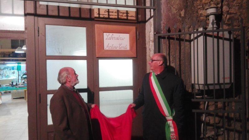 Intitolazione Officina dei Mestieri a Tarquinia