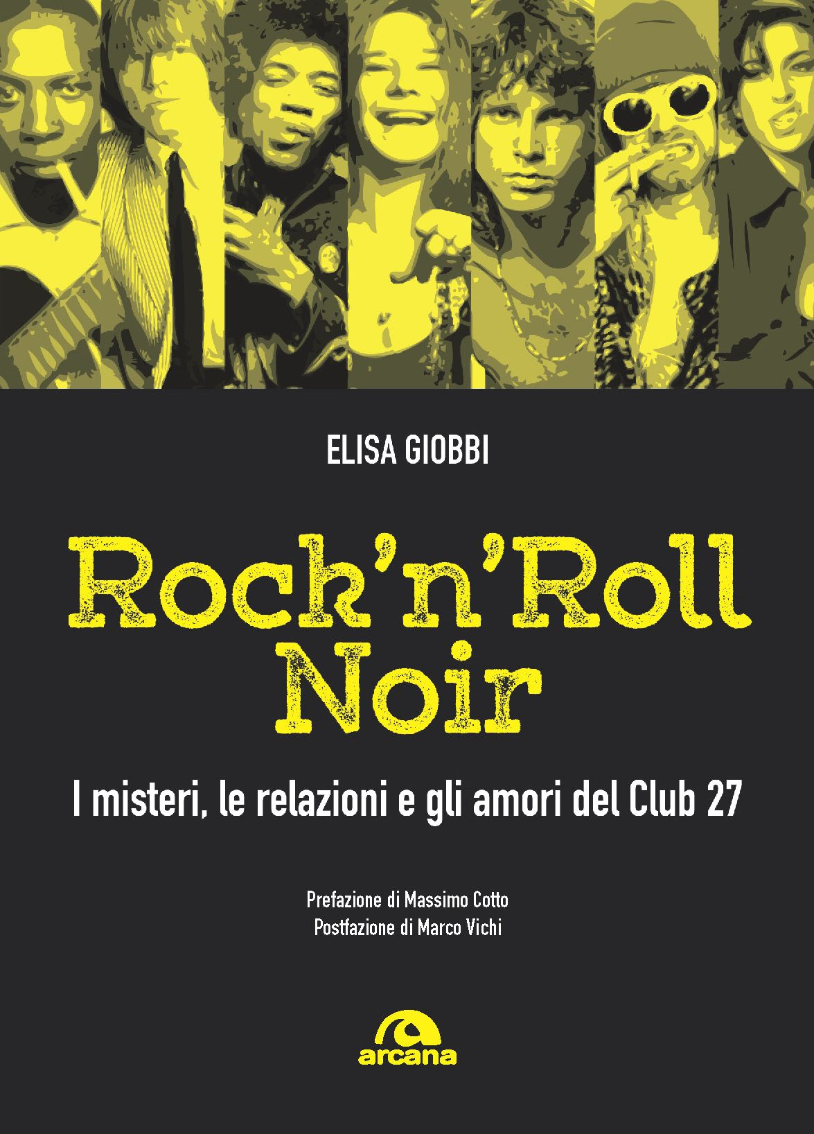 Copertina del libro di Elisa Giobbi ROCK N ROLL NOIR