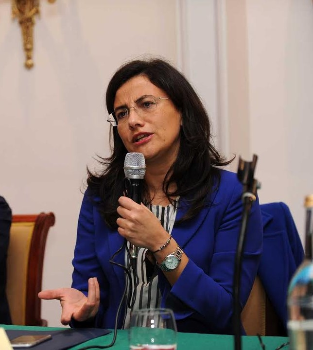 Senatrice Angelica Saggese (PD)