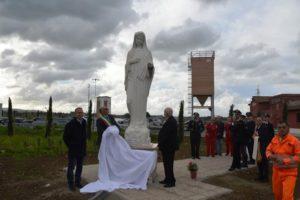 Svelamento della statua della Madonnina a Tarquinia