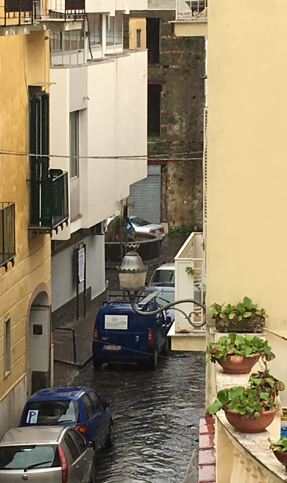 Via siano a Sant'Anastasia (Napoli)