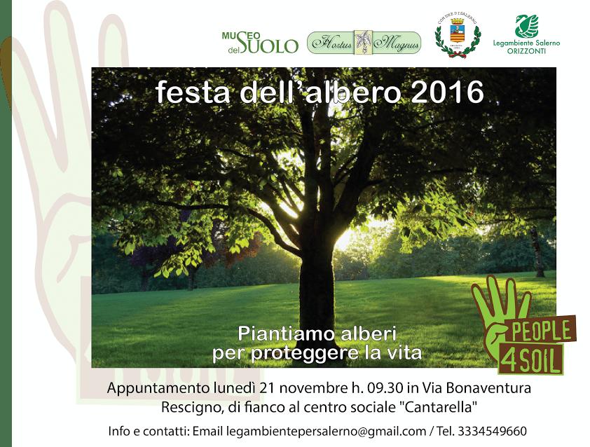 Festa dell'Albero Legambiente Salerno