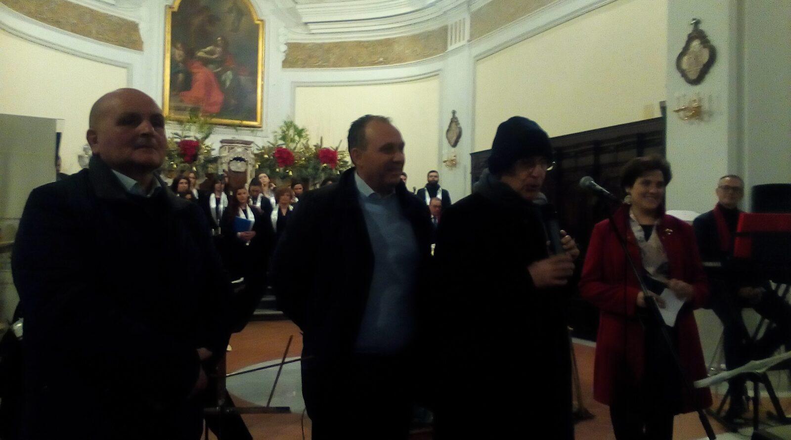 Don Ginetto De Simone - Saluto Concerto Natale - Marigllianella 26.12.2016