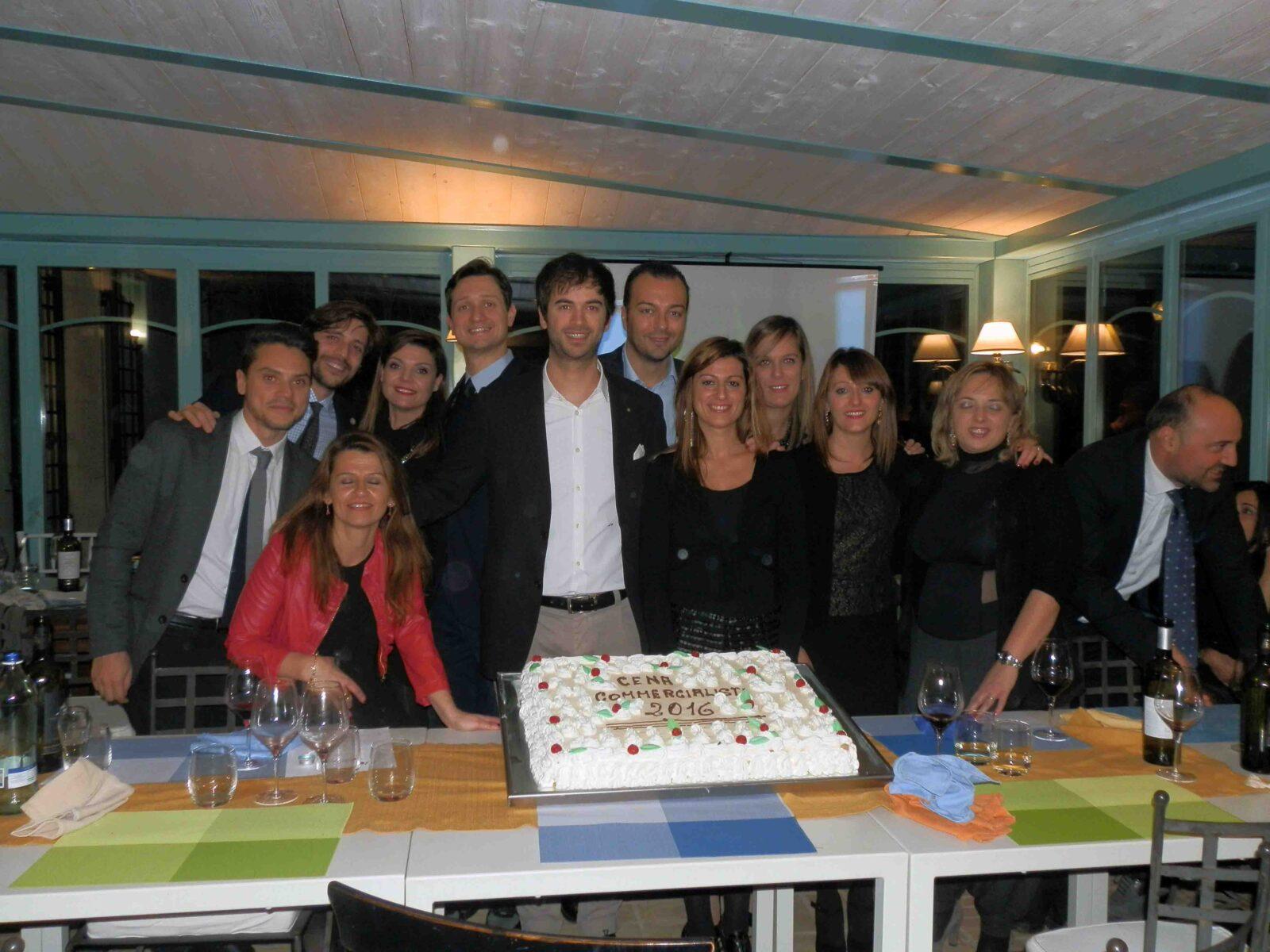 Il direttivo dell'Unione giovani commercialisti di Perugia