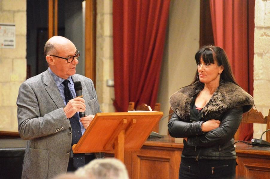 Il sindaco di Tarquinia Mazzola e l'assessore Valeri