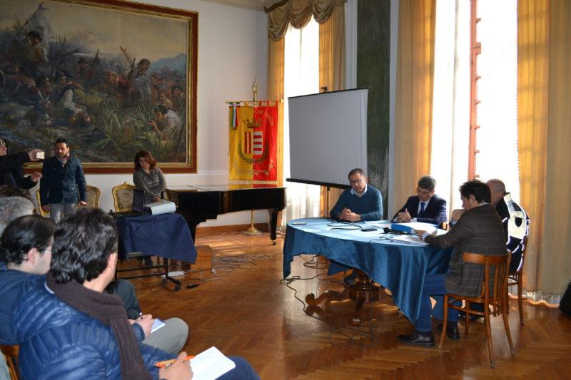 Presentazione viabilità Comune Cava de' Tirreni 2 febbraio 2017