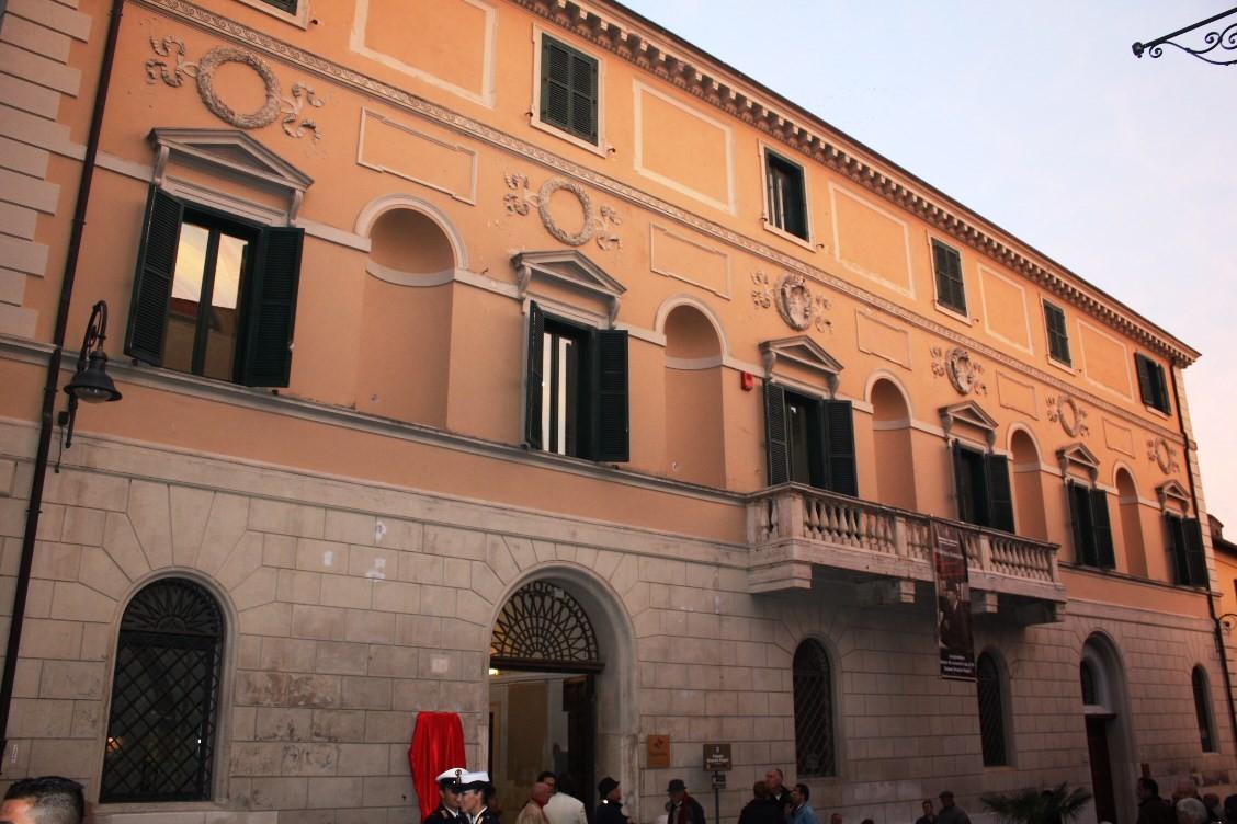 Palazzo Bruschi Falgari a Tarquinia