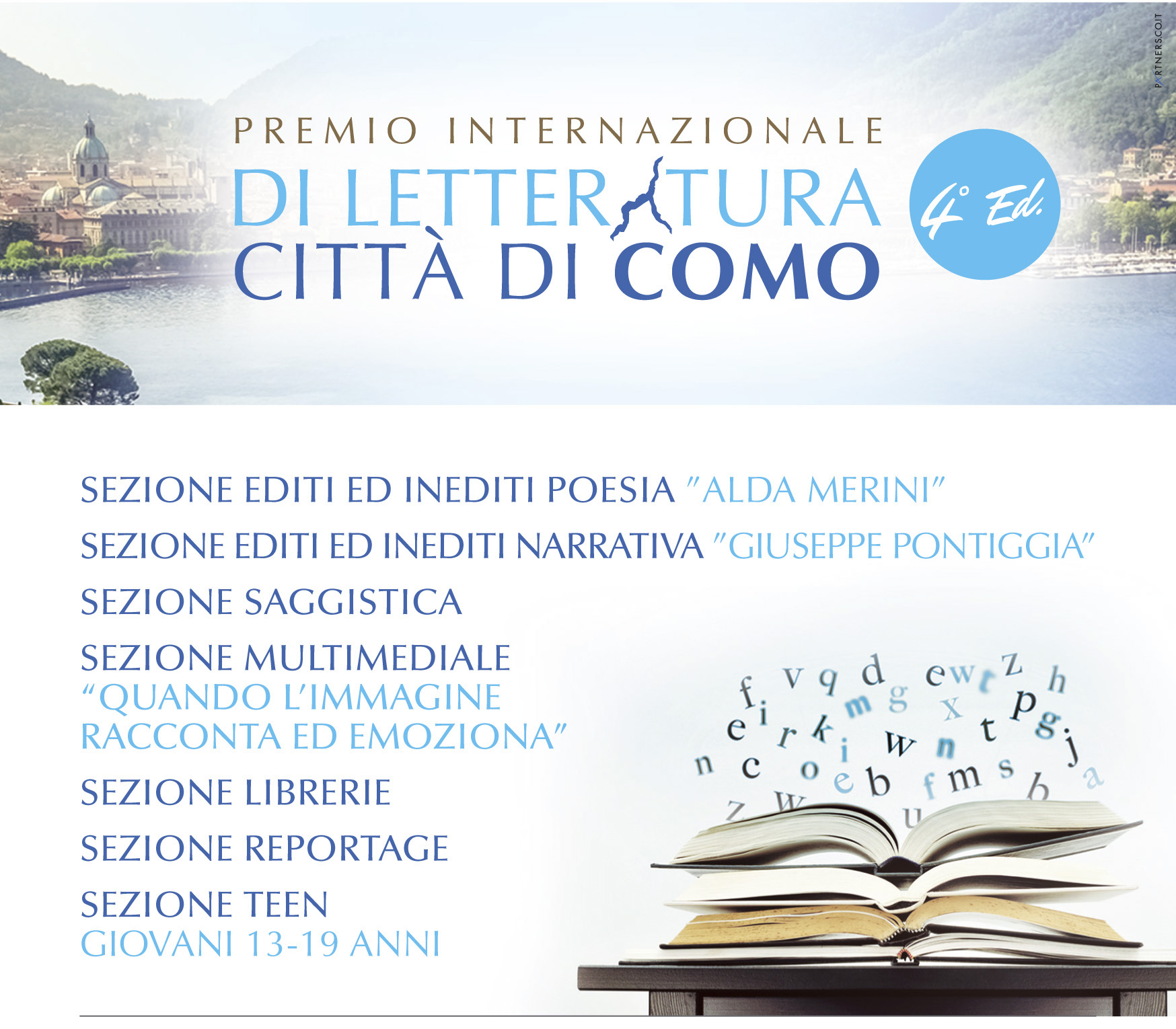 Locandina Premio Città di Como 2017