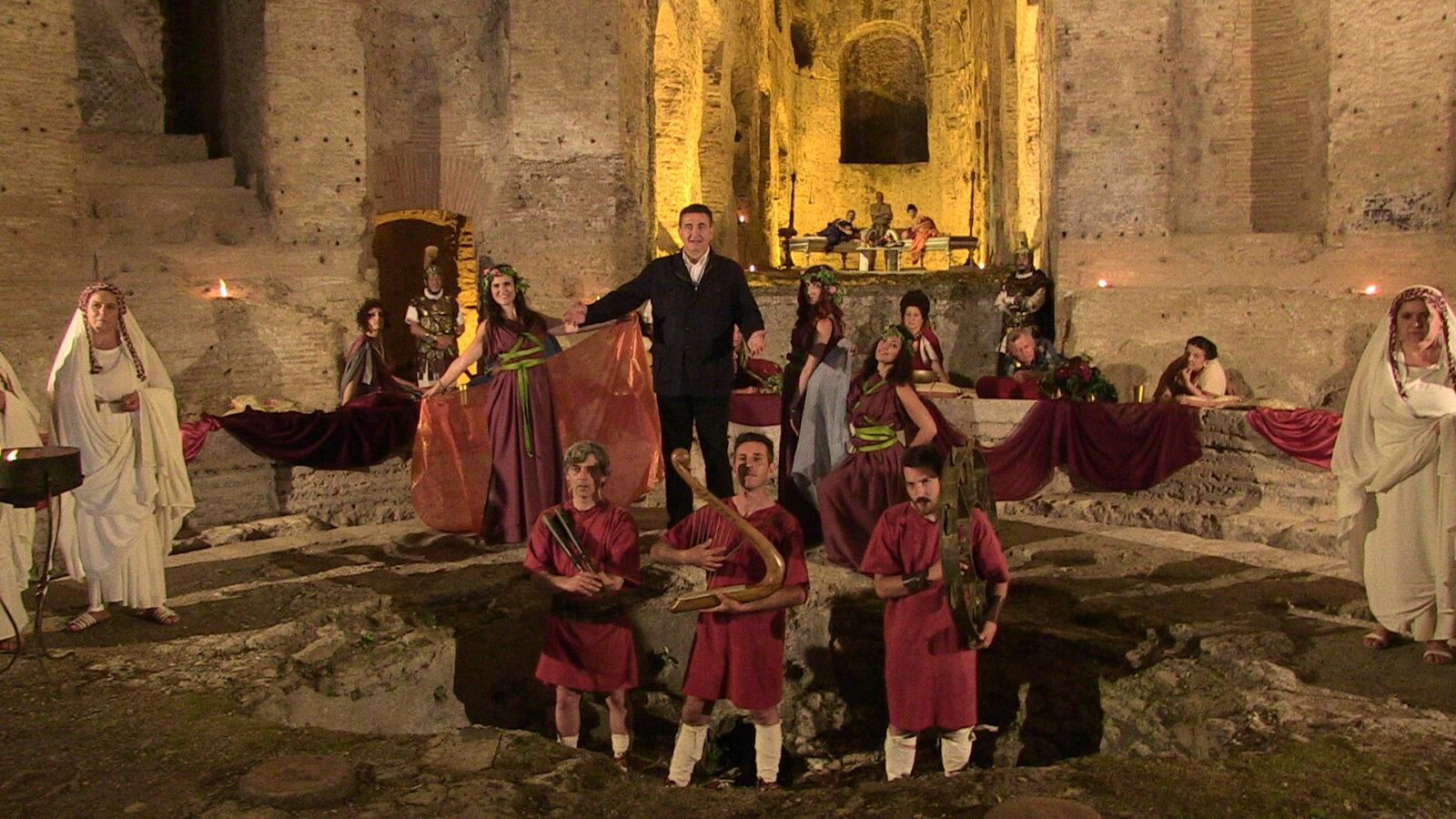 Roberto Giacobbo intervista Adriano, l'imperatore: il ritorno di Voyager