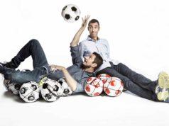 """Luca e Paolo conduttori di """"Quelli che il calcio"""""""