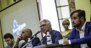 foto conferenza stampa FantaExpo 2
