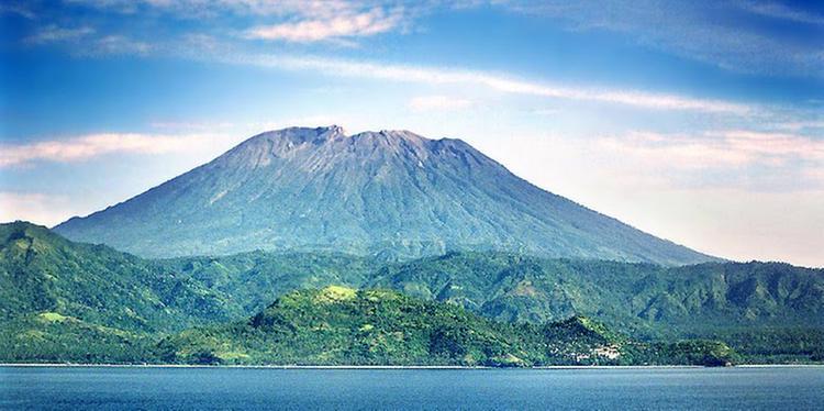 vulcano agung bali