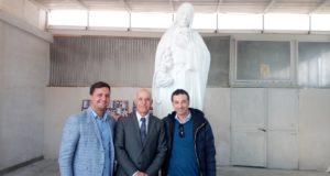 Felice e Luigi Minichino con Ass. Arcangelo Russo 17.11.2018 a C. Cisterna NA