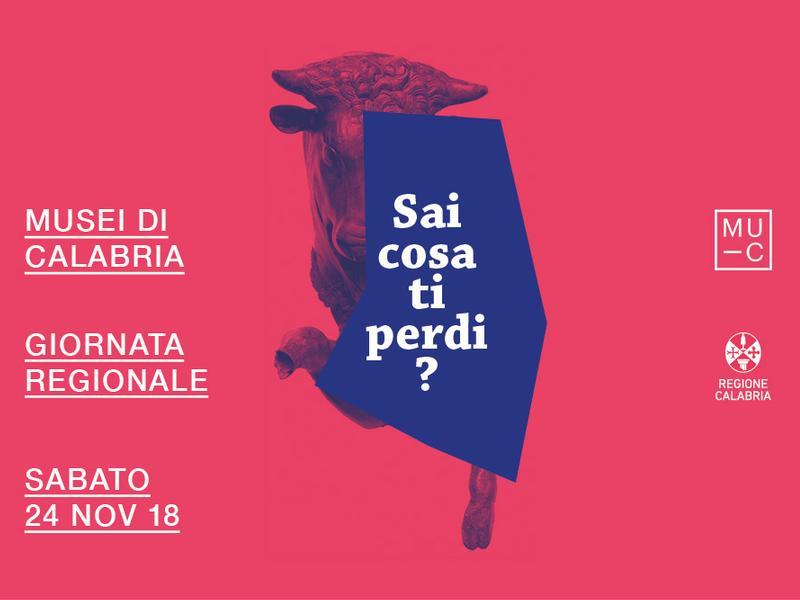 Logo Giornata Regionale dei Musei di Calabria