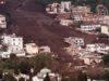 Foto del 06/05/98 che mostra la terribile frana che colpì la città di Sarno