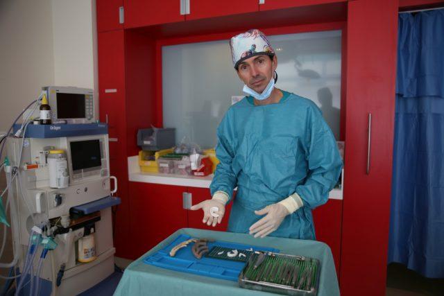 Il dottor Flavio Facchini