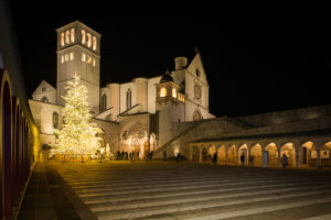 Natale ad Assisi Luci luminarie