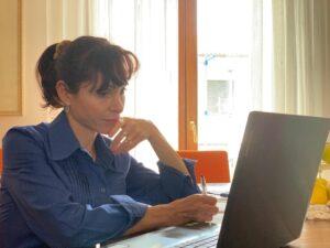 Sara Tomassini, presidente dell'associazione Anabio Marche