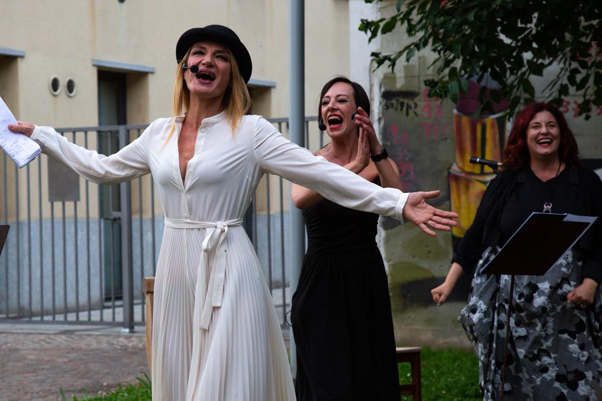Ofelia. Donna delle erbe - Gilberta Crispino, Elena Pilan e Donatella Massimilla - Ph Elena Savino