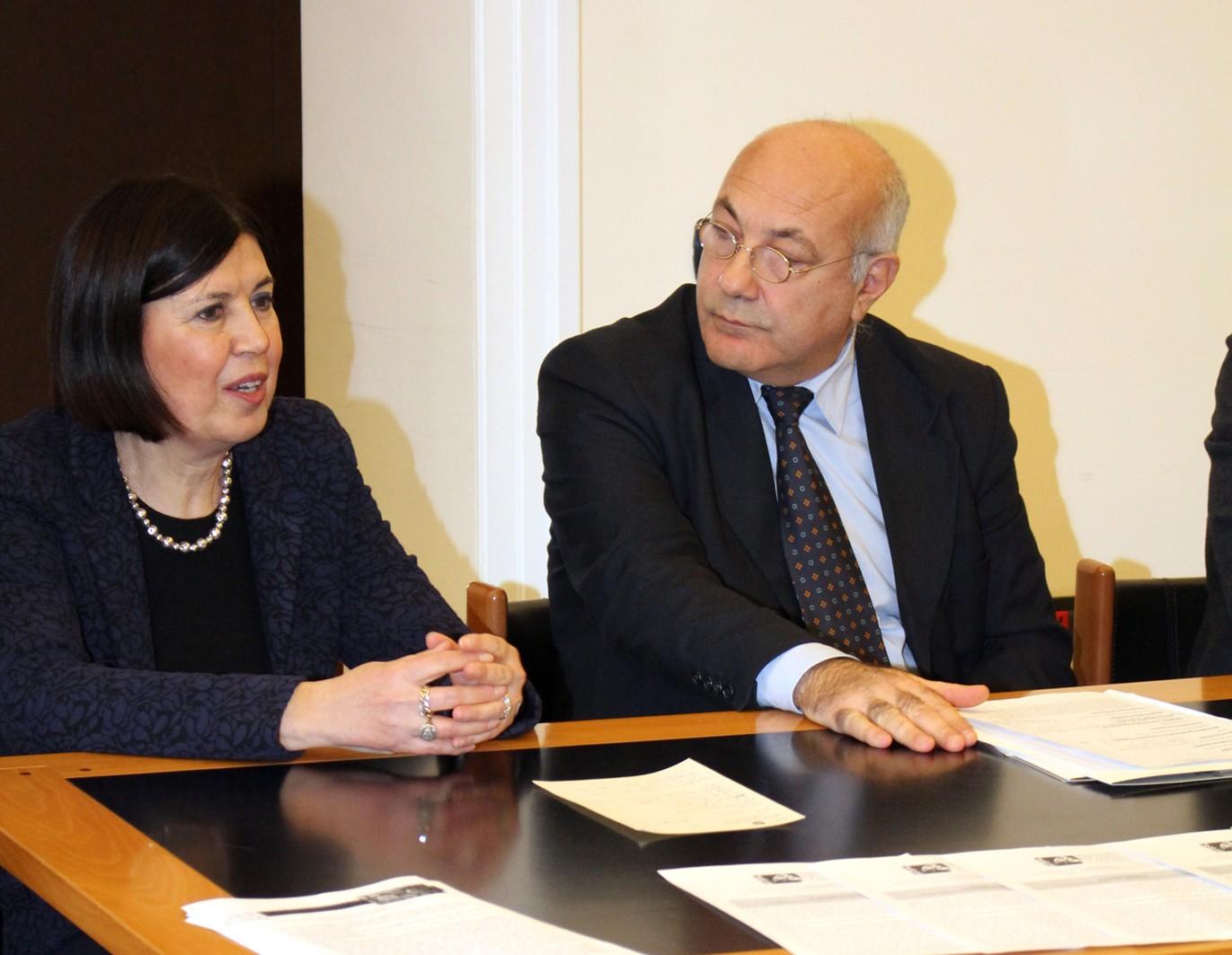 Francesca Casule con Michele Faiella