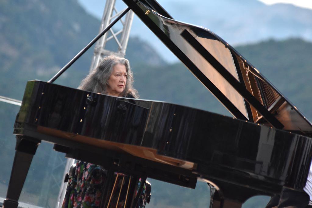Martha Argerich - ph Pino Izzo