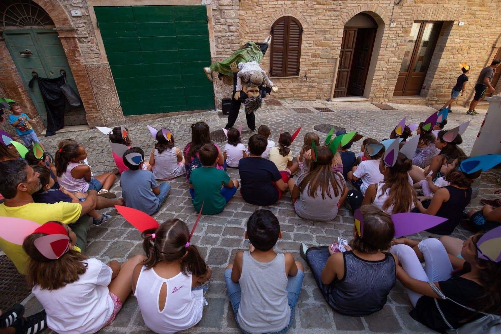 """Foto di repertorio dal """"Paese dei Balocchi"""" nell'estate 2018"""
