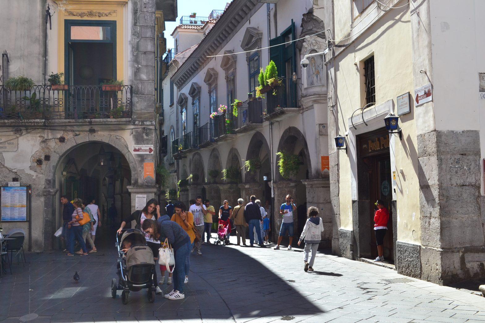 Centro storico di Cava de' Tirreni (Salerno)