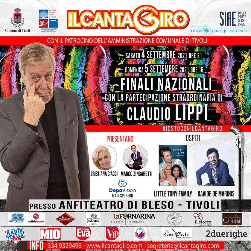 Locandina Cantagiro 2021
