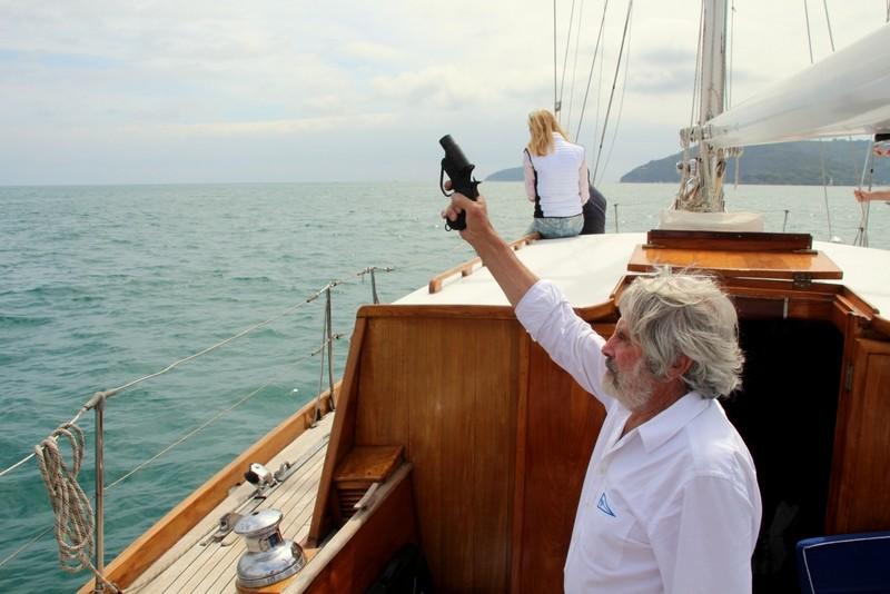 Partenza regata Foto Maccione